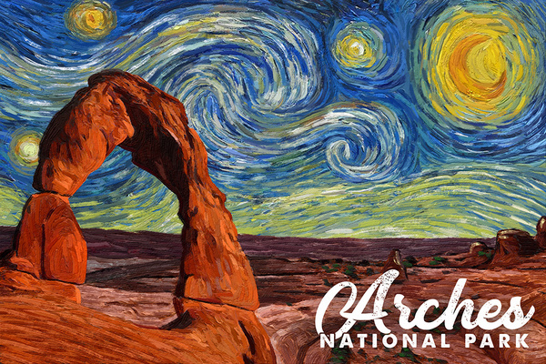 Starry Night National Park Series